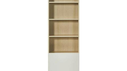 onion Maple 6-tier bookshelf door type 600