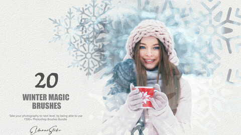 20 Winter Magic Brushes