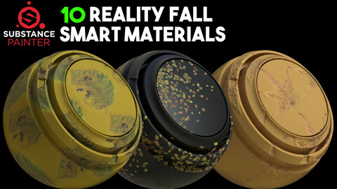 10 Reality Fall Smart Materials / .spsm