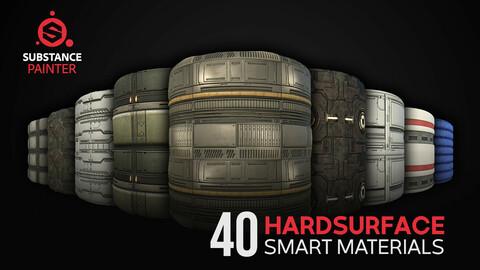 40 Sci-fi Hardsurface Smart Materials
