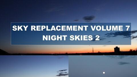 Sky Replacement Volume 7 - Night Skies 2