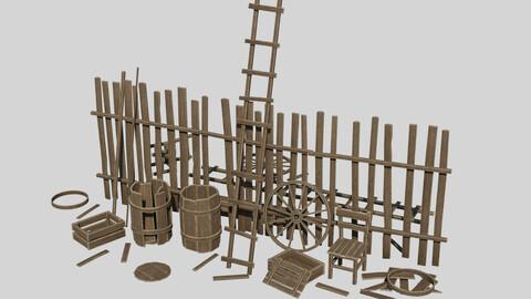 Modular Wooden Props