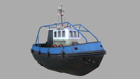 """Tugboat """"Emilka"""""""