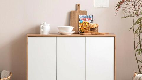 Rhapsody minimal 1200 storage cabinet