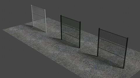 Fence 4 - 3D-Model
