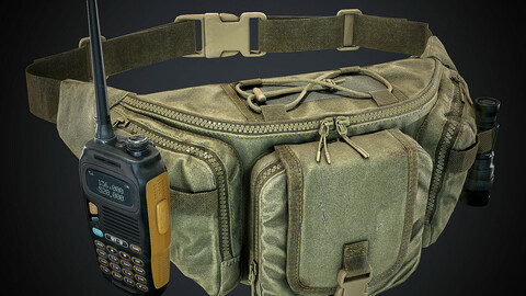Game-Ready Waist Pack