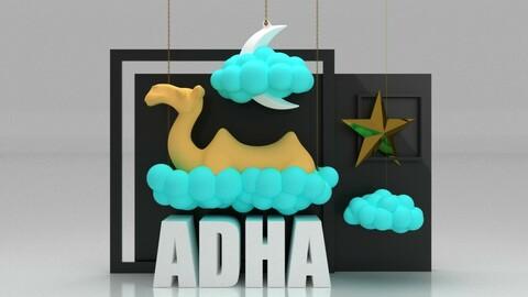 Eid Al Adha Conceptual Shop Window