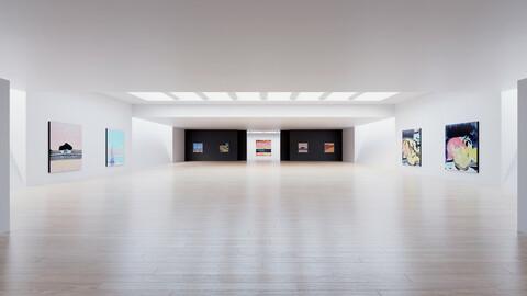 Art Museum Gallery Interior 6
