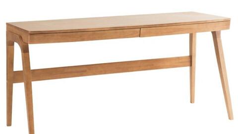 Velocie of wooden desk 160cm