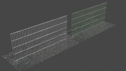 Fence 5 - 3D-Model