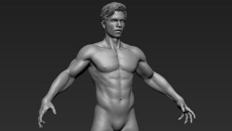 Man Realistic Sculpt