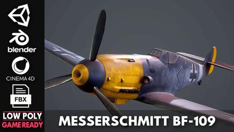 Messerschmitt  BF-109 - Game Ready