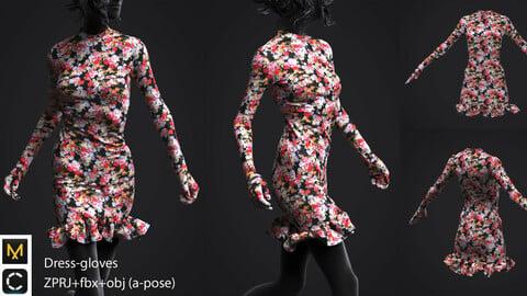 Digital  dress-gloves
