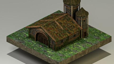 Secret Warehouse 3D Model