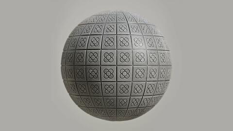 Flor de Barcelona - Texture tile
