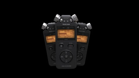 Recorder TASCAM (Game Ready)