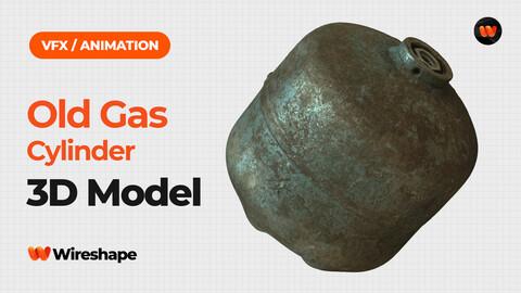 Old Gas Cylinder - Extreme Definition 3D Scanned Model