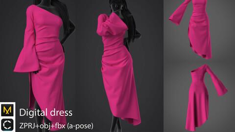 Digital dress. Clo3d/MD
