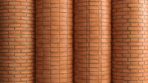 Materials 11- Brick Tiles PBR in 4 Patterns