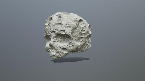 Printable Skull Asteroid