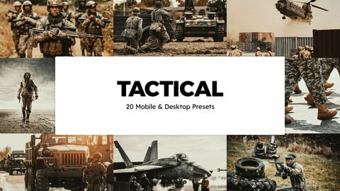 20 Tactical LUTs and Lightroom Presets