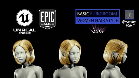 Sam Grooming Real-Time Hairstyle Unreal Engine 4