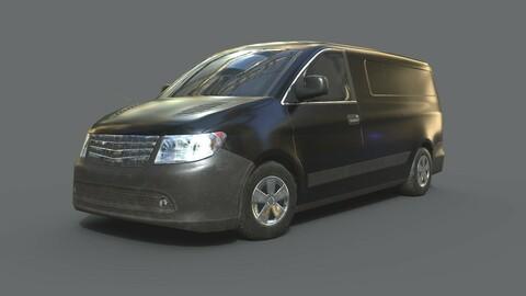 Generic Minivan Black