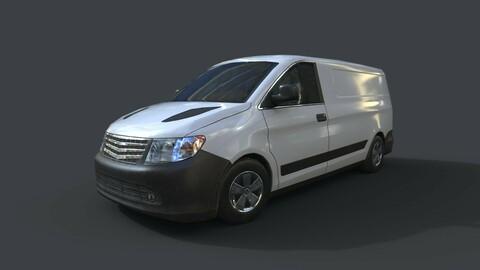 Generic Minivan White