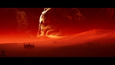 The Red Desert Unreal Project