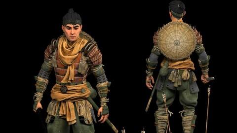 Japan Samurai Warrior