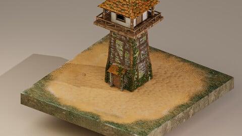 Watchtower Level 5 3D Model