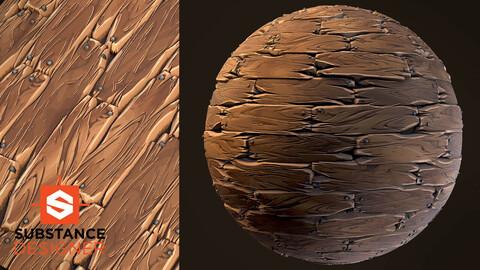 Stylized Wood Planks - Substance Designer