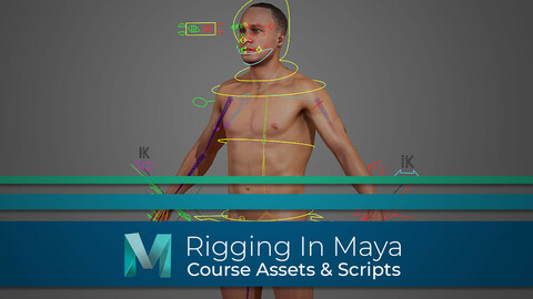 Rigging In Maya - Full Course Assets