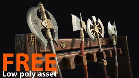 Axes - Free 3D Asset