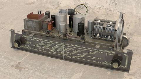 Radiola Vaccum tube 3D model