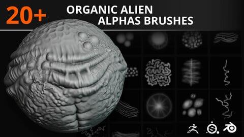 20+ Organic Alien Skin Alphas