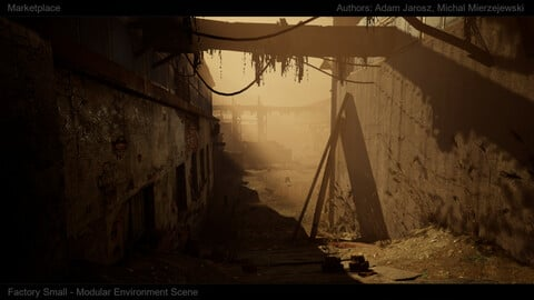 [UE4][SCANS] Old Factory Street