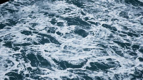 Water foam textures