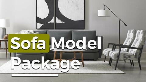 Sofa Model Pack