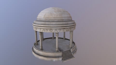 Greek Dome 3D Model
