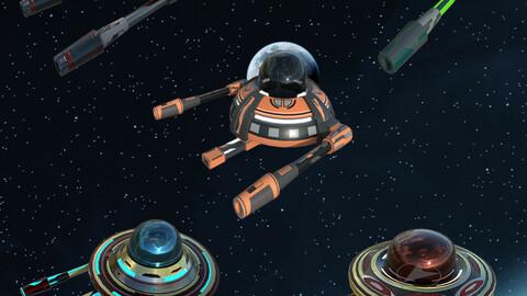 Spaceship Bundle 3