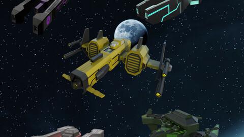 Spaceship Bundle pack 2