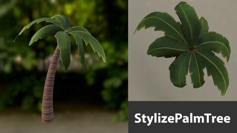 Stylize Palm Tree