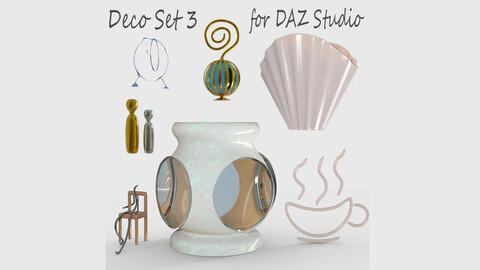 Deco Set 3 for DAZ Studio