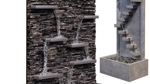 Sandstone Wall Fountains