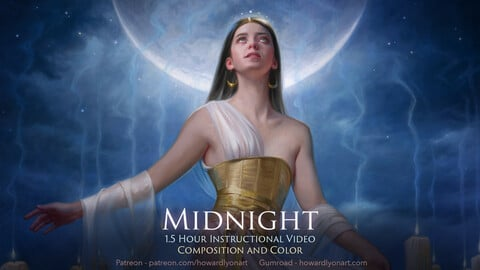 Midnight - Oil painting tutorial