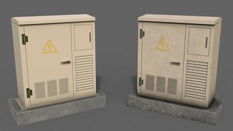 PBR Electric Box White2