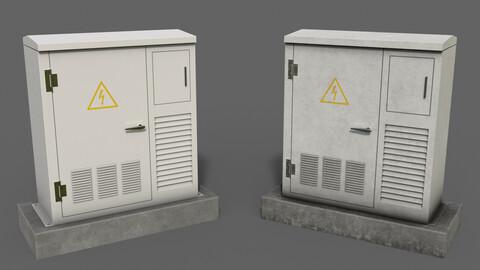 PBR Electric Box White
