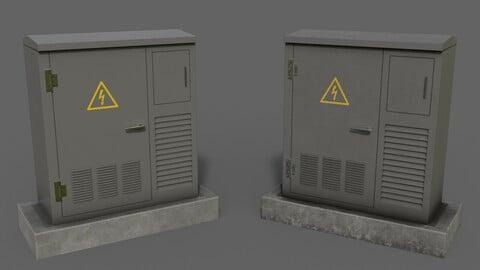 PBR Electric Box Grey