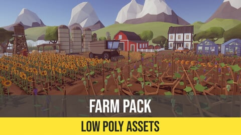 Low Poly Farm Pack